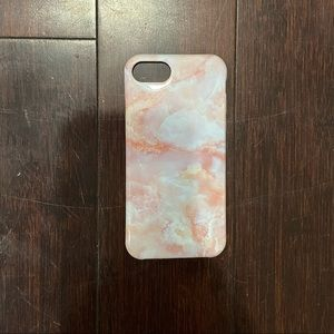 pink marble iphone 7/ iphone 8 case